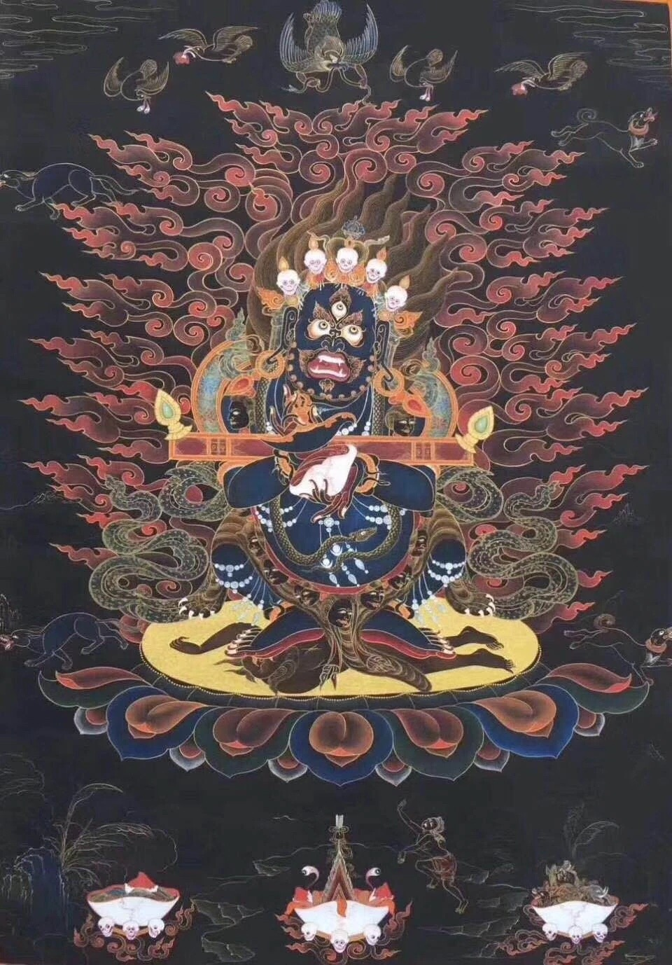 MAHAKALA RITUAL WITH GUTOR - Lama Gendun Ghyatso