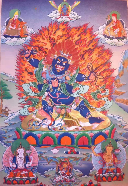 SHRI VAJRAPANI BHUTADAMARA INITIATION - Khenpo Tashi Sangpo
