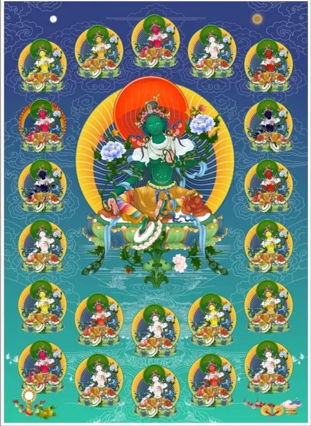 21 TARAS, TEACHING AND INITIATION – Khenpo Tashi Sangpo