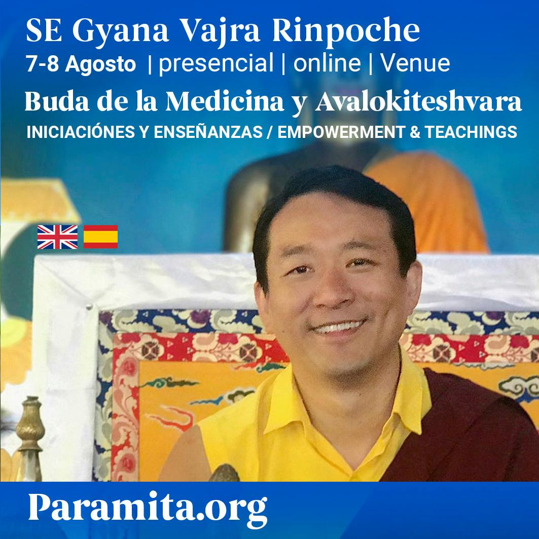 SPAIN - Medicine Buddha Empowerment by H. E. Gyana Vajra Rinpoche