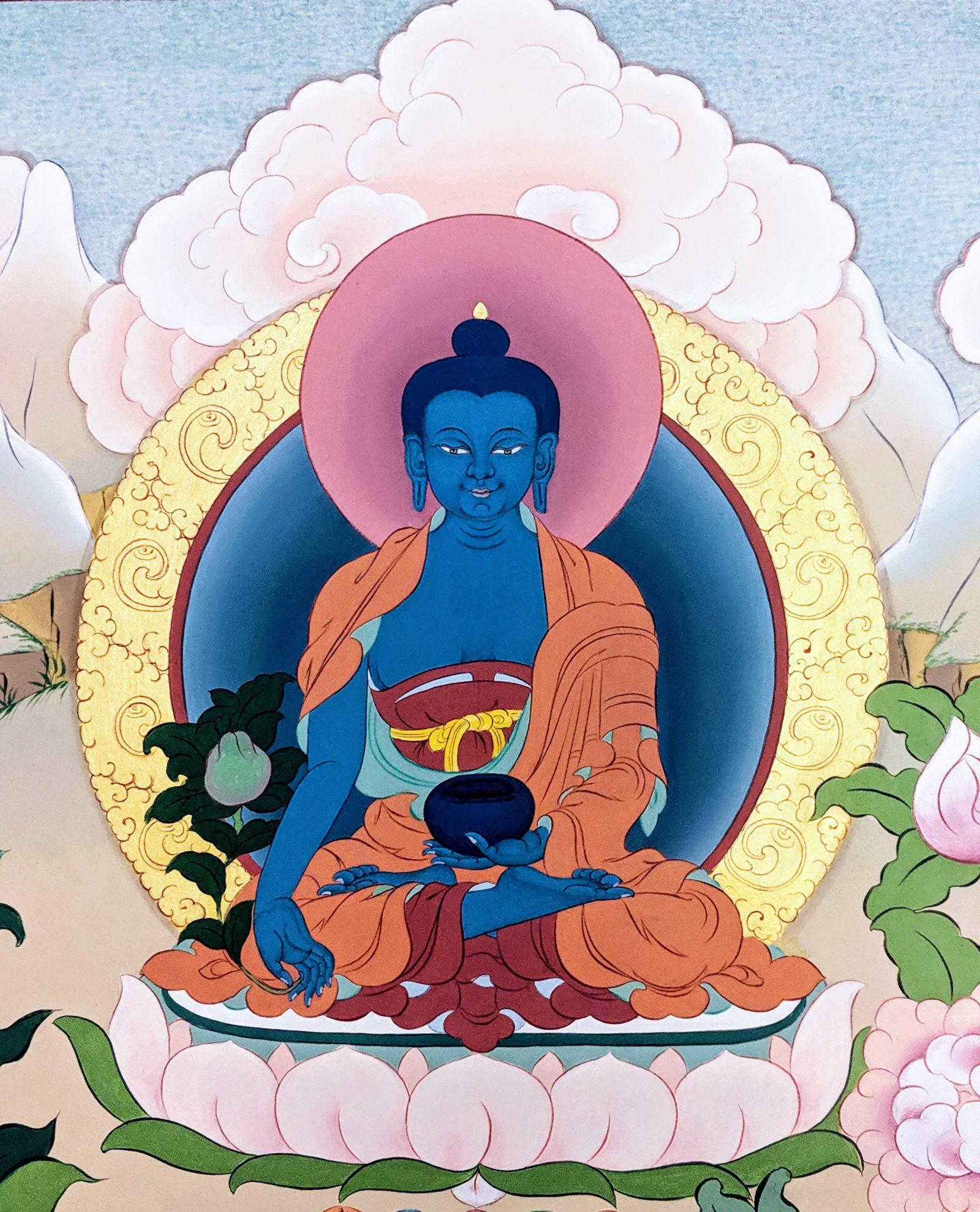 MEDICINE BUDDHA WITH KHENPO TASHI SANGPO