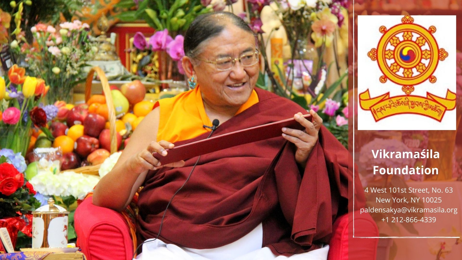 SAMANTHABADRA PRAYER WITH H.H. SAKYA TRICHEN RINPOCHE