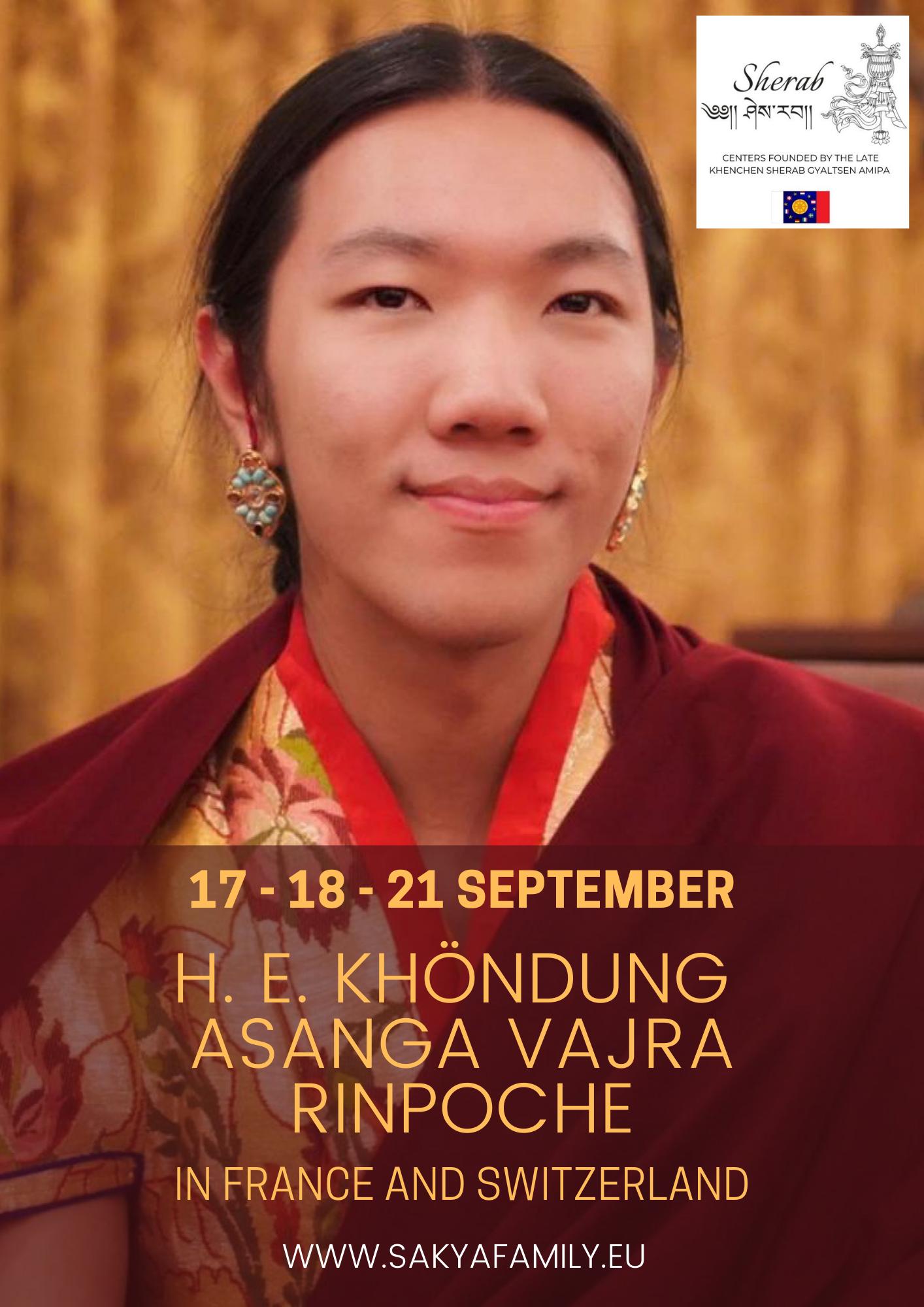 KUTTOLHEIM EN (FR, SP, IT, DE, NL) -H. E. Khöndung Asanga Vajra Rinpoche